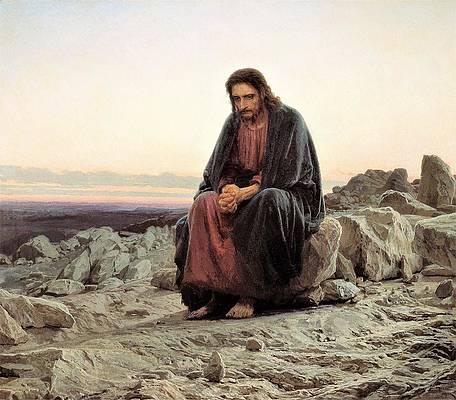 Christ In the Wilderness, Ivan Kramskoi