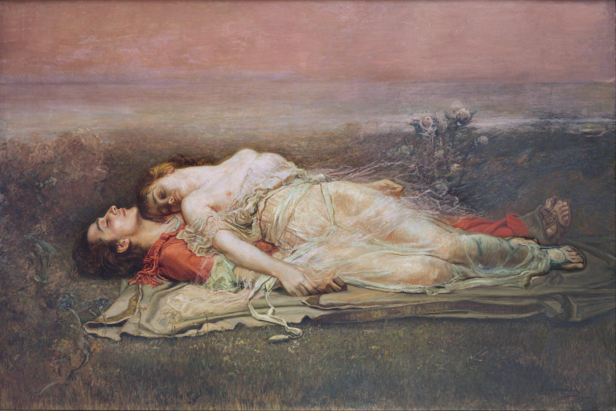 Tristan and Isolt, Rogelio de Egusquiza