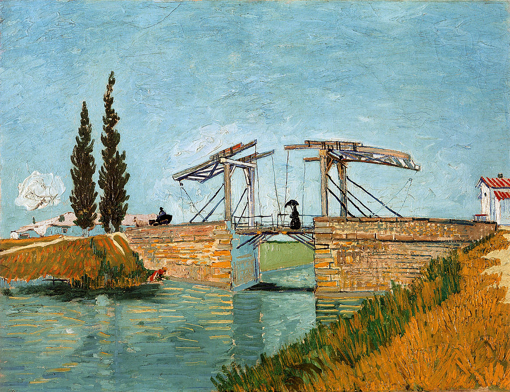 The Langlois Bridge at Arles, Van Gogh