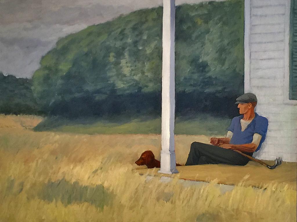 Clamdigger, Edward Hopper