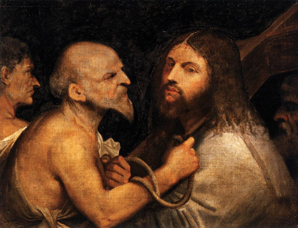 Cristo Portacroce, Titian